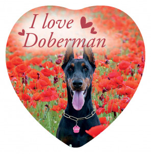 Magnete Love Doberman